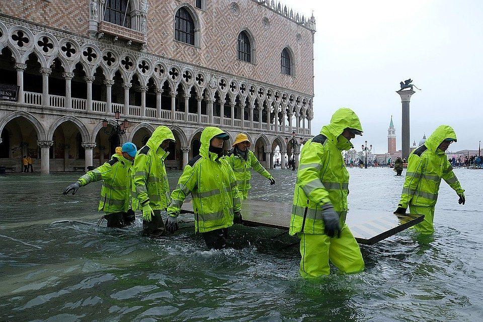 Венеция суу алдында калды